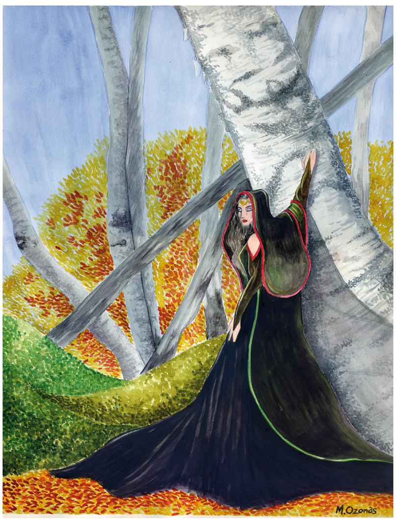 Ilustración: Luto de Arwen
