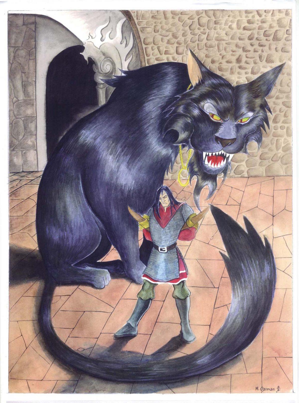 """Ilustración: Tevildo (""""Cuentos Perdidos"""")"""