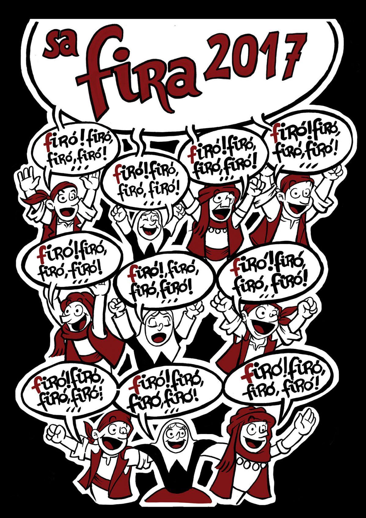 """Propuesta para el Cartel de """"Sa Fira 2017"""""""